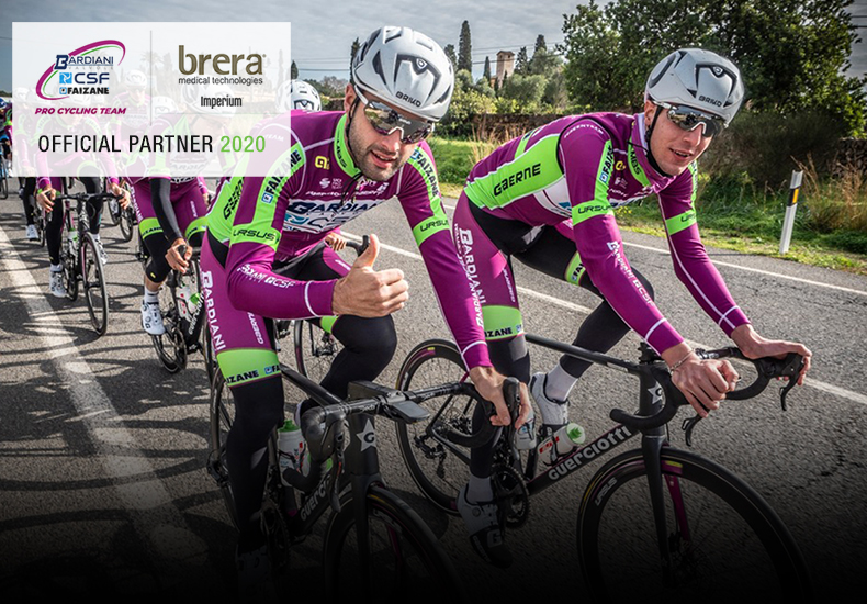 BRERA WITH THE BARDIANI CSF FAIZANÈ TEAM