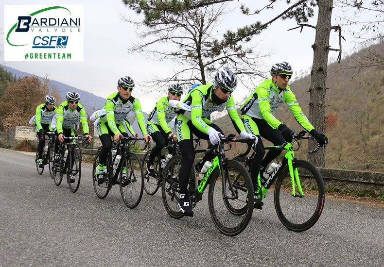 Bardiani – CSF Pro Team - Cycling Italy