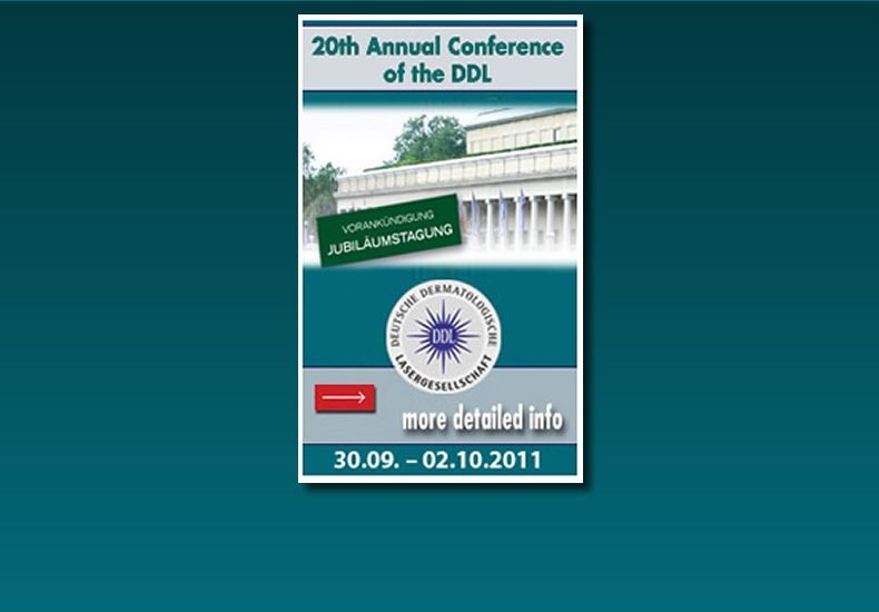 20th Annual Conference of the DDL